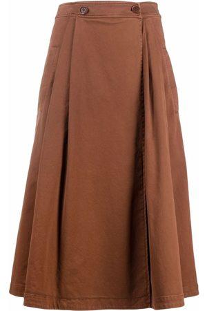 Aspesi Women Pleated Skirts - Pleated A-line skirt