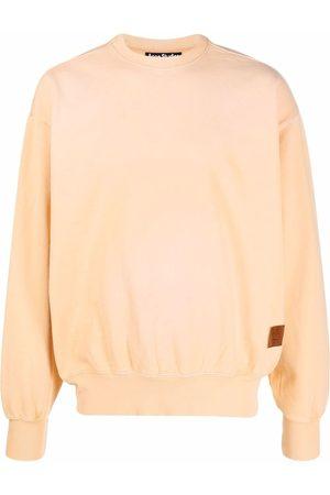 Acne Studios Sweatshirts - Logo-print crew-neck sweatshirt