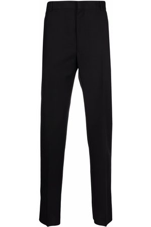 Alexander McQueen Men Formal Pants - Pressed-crease tailored trousers