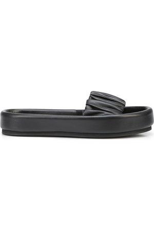 Khaite Women Sandals - The Cruz leather slides