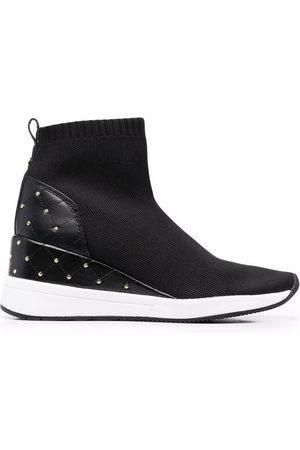Michael Kors Women Sneakers - Skylar high-rise sneakers