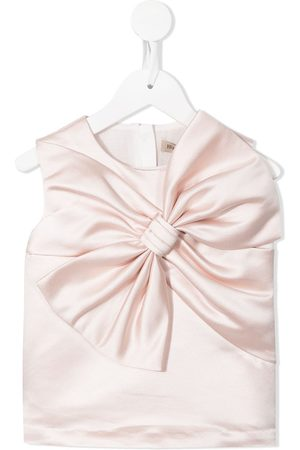 Hucklebones London Oversize bow-detail sleeveless top