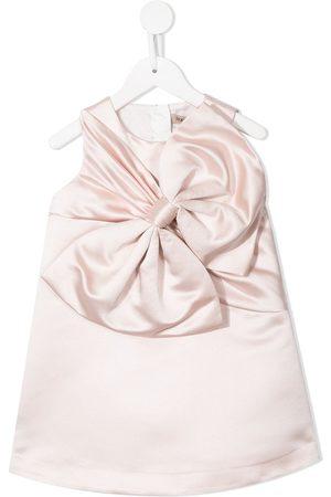 HUCKLEBONES LONDON Girls Casual Dresses - Oversize bow-detail shift dress