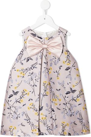 HUCKLEBONES LONDON Girls Casual Dresses - Oversize-bow shift dress