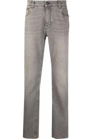 ETRO Paisley straight-leg jeans - Grey