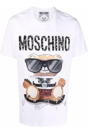 Moschino Men Short Sleeve - Graphic-print short-sleeve T-shirt