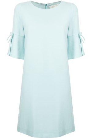 JANE Irinna bow-detail mini dress