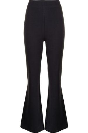 JANE Women Wide Leg Pants - Merlin kick-flare trousers