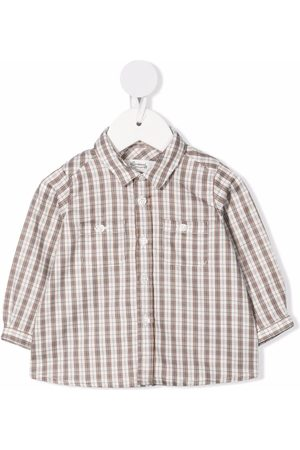 BONPOINT Shirts - Check-print cotton shirt