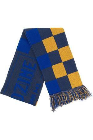 Anglozine Men Scarves - Team checkerboard logo scarf