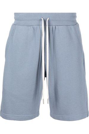 JOHN ELLIOTT Men Sports Shorts - Crimson cotton track shorts