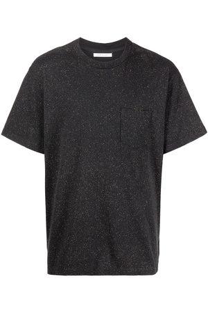 JOHN ELLIOTT Men T-shirts - Salt Wash speckled cotton T-shirt