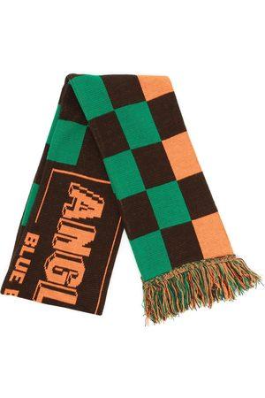 Anglozine Men Scarves - Team checkerboard logo scarf - Multicolour