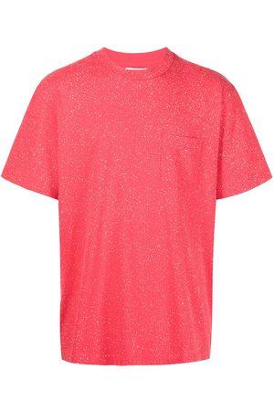 JOHN ELLIOTT Speckle-knit T-shirt