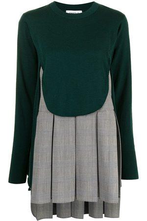 ENFÖLD Women Sweaters - Panelled fine-knit layered jumper