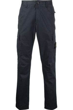 Stone Island Men Cargo Pants - Logo patch cargo trousers