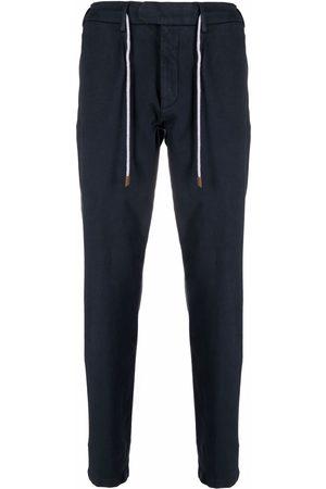 Eleventy Men Chinos - Drawstring chino trousers