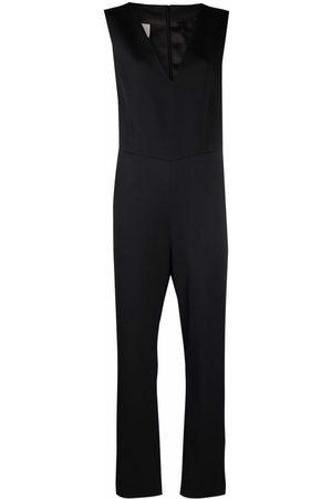 MM6 MAISON MARGIELA Women Jumpsuits - Sleeveless V-neck jumpsuit