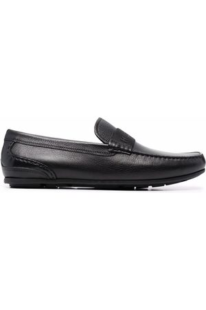 Tommy Hilfiger Men Loafers - 3D-print leather driving loafers