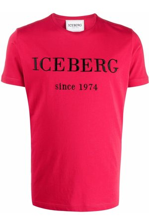 Iceberg Logo-embroidered cotton T-shirt