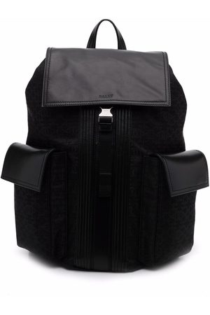 Bally Rucksacks - Buckle-fastening backpack