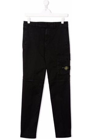 Stone Island Cargo Pants - TEEN panelled cargo trousers