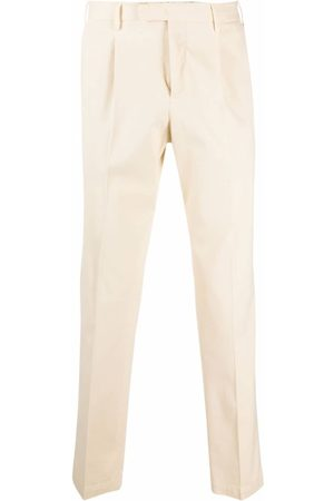 Pt01 Tapered chino trousers - Neutrals