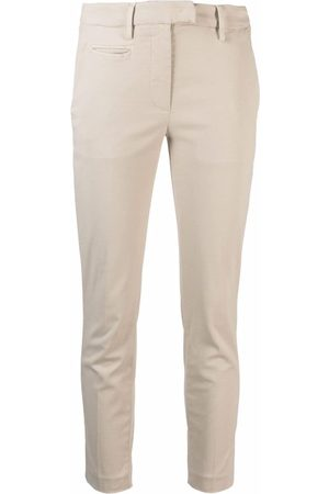 Dondup Cropped chino trousers - Neutrals