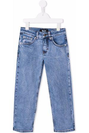 Molo Mid-rise slim-fit jeans