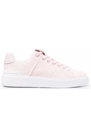 Balmain B-Court jacquard sneakers
