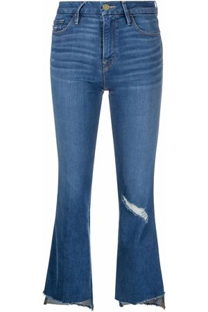 Frame Women Flares - Cropped flared-leg jeans