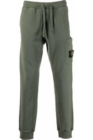 Stone Island Logo-patch cargo-pocket track pants