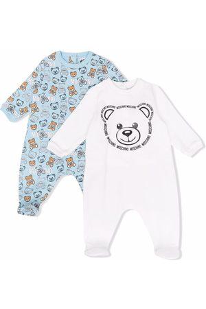 Moschino Teddy bear print babygrow