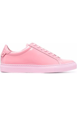 Givenchy Logo-print patent leather sneakers