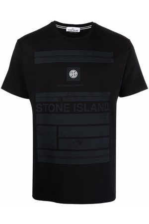 Stone Island Logo-patch short-sleeve T-shirt