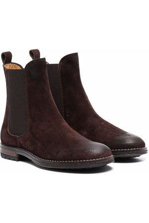 GALLUCCI Gallucci leather ankle boots