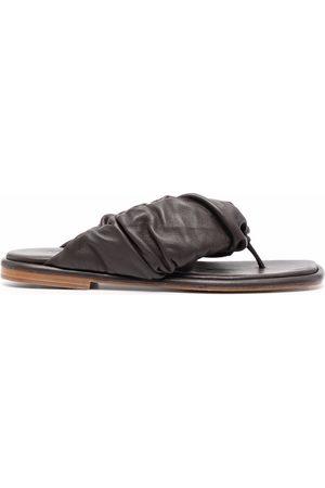 Hereu Ruched-band sandals