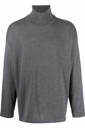 SOCIÉTÉ ANONYME Roll-neck virgin wool jumper - Grey