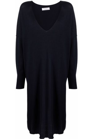 SOCIÉTÉ ANONYME Scoop neck long-sleeved dress
