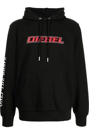 Diesel Men Hoodies - Logo-print hoodie