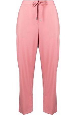 Theory Women Sports Pants - Drawstring tracksuit bottoms