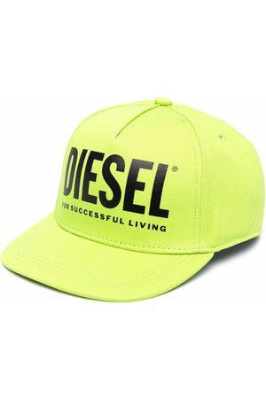 Diesel Boys Caps - Logo-print baseball cap