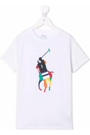 Ralph Lauren Boys T-shirts - Logo-print cotton T-shirt