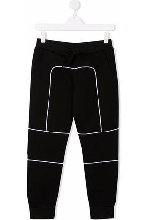 Dsquared2 Sweatpants - TEEN logo patch track pants