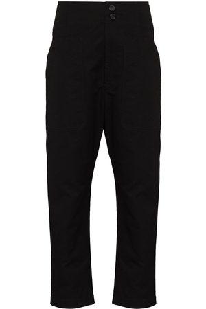 Isabel Marant Pralunia slim-leg trousers - 02FK FADED