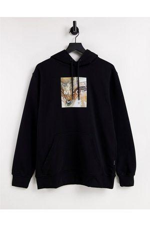 Nicce London Men Hoodies - Aerial box photo print hoodie in