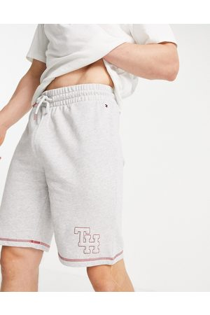 Tommy Hilfiger Men Shorts - Lounge shorts with logo in -Grey