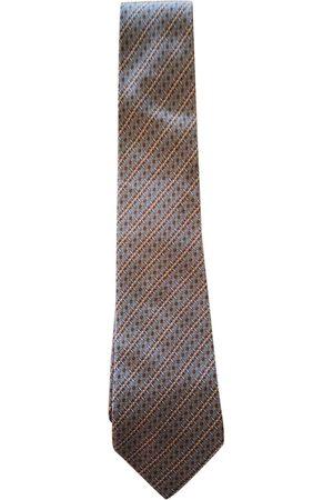 Hermès Khaki Silk Ties