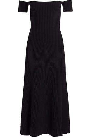 Anna Quan Women's Valerie Off-The-Shoulder Dress - Zest - Size 8