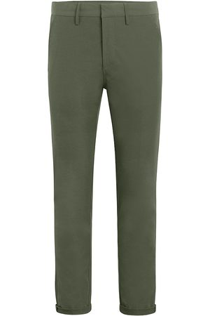 Joes Jeans Men's Stretch Tech Cropped Pants - Dusty Olive - Size 40